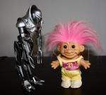 Cylon meets Sammy at my desk