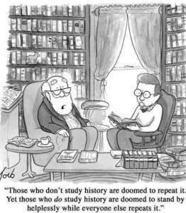doomed history cartoon